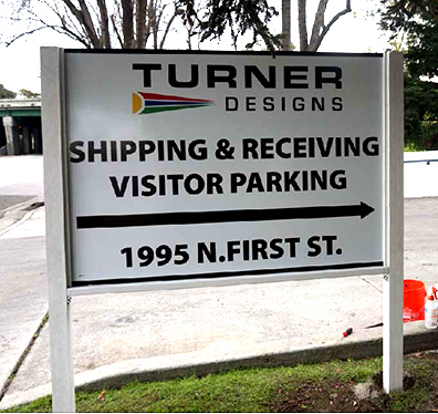 Turner post and panel