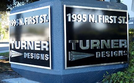 Turner cube monument