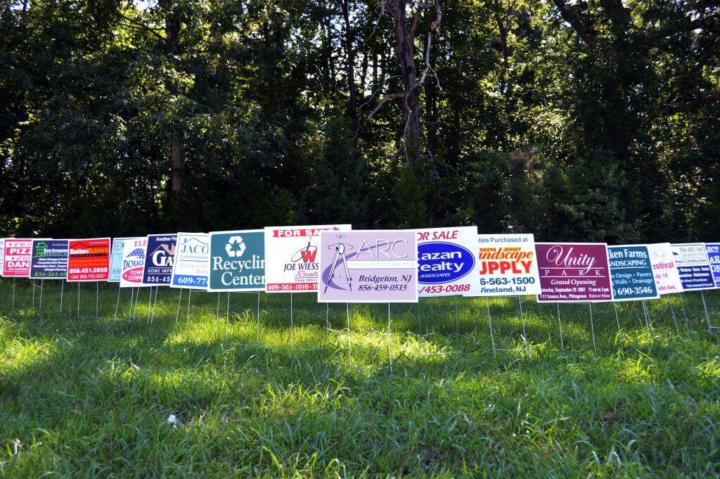 Political & General Yard Signs